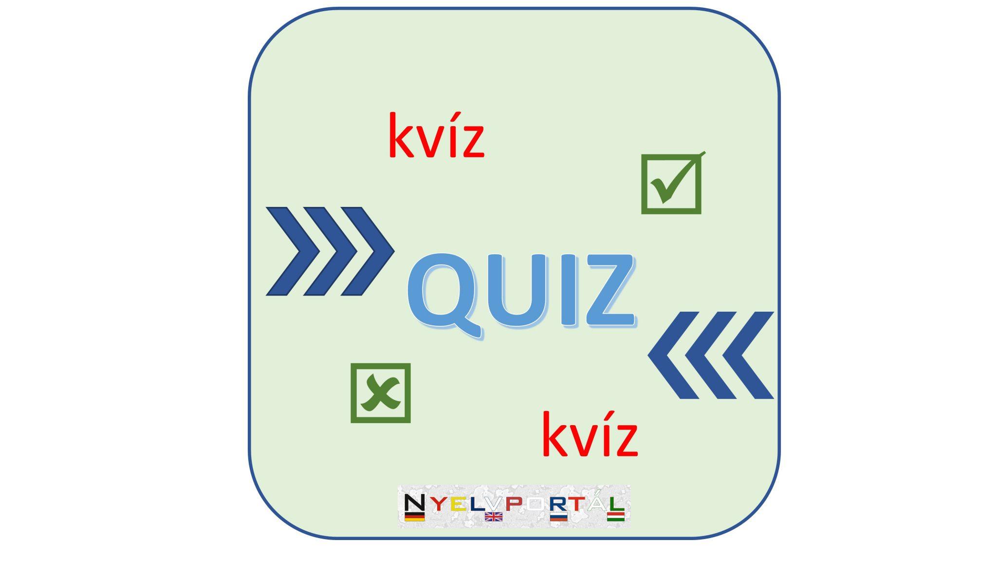 Quiz - kvíz
